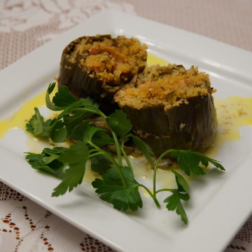 Prezza Stuffed Artichokes