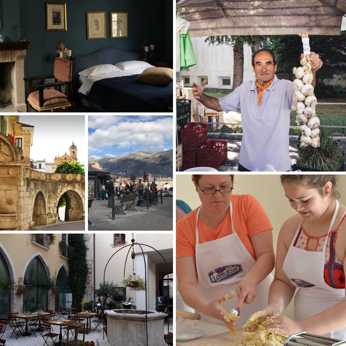 Family reunion and group city break Sulmona