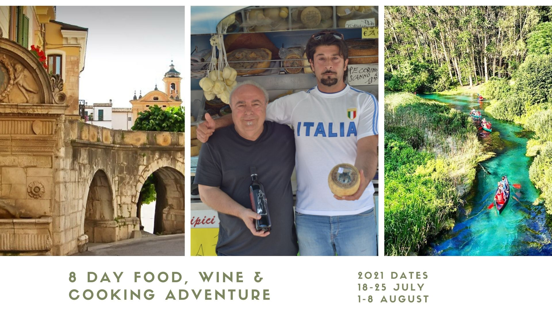 8 Day Italian Cooking Holiday